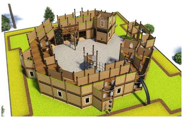 Maketa pevnosti