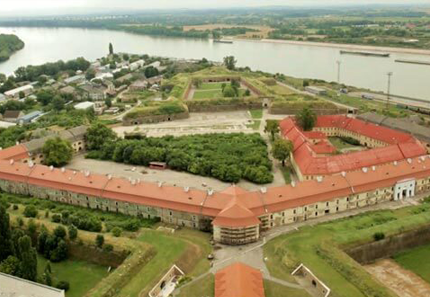 Az eredeti komáromi Öreg-vár és Új-vár
