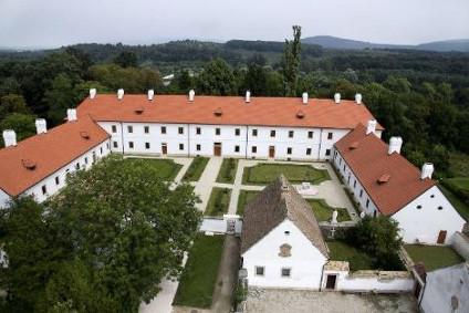 Pohľad na pôvodný hrad